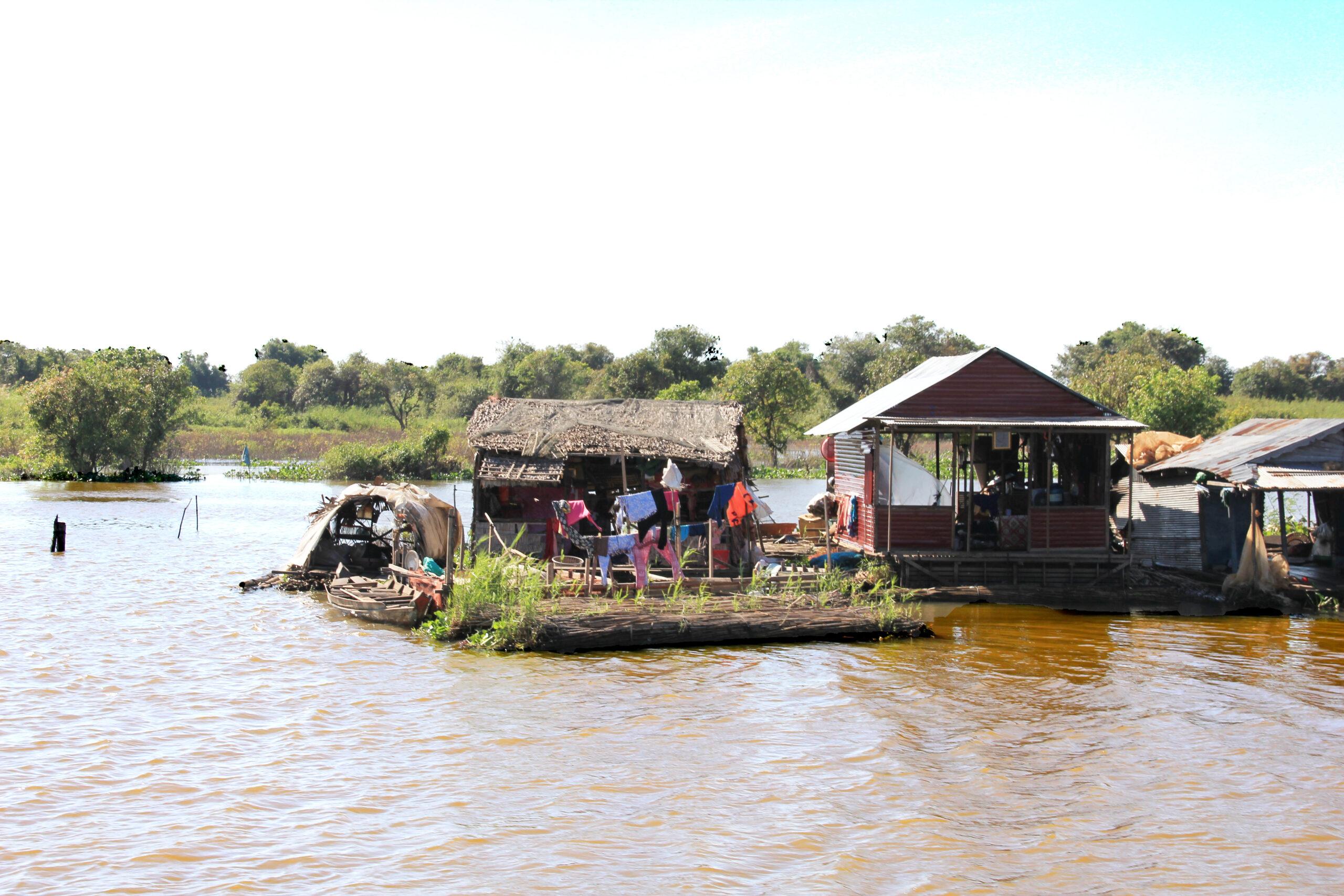 Tonle Sap Schwimmende Dörfer