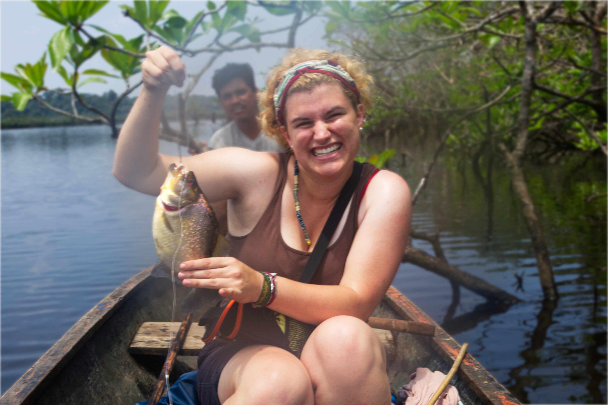 Lifestyle Ecuador: Piranha fangen